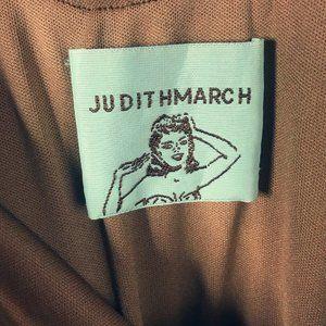 Judith March Dresses - Judith March Off The Shoulder Flutter Sleeve Dress